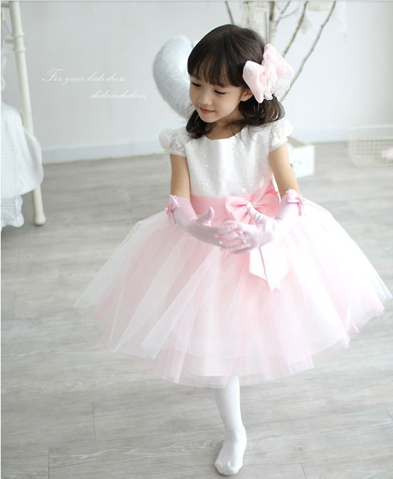 Wedding Dress For Flower Girl Evening Dress For Kids Girl