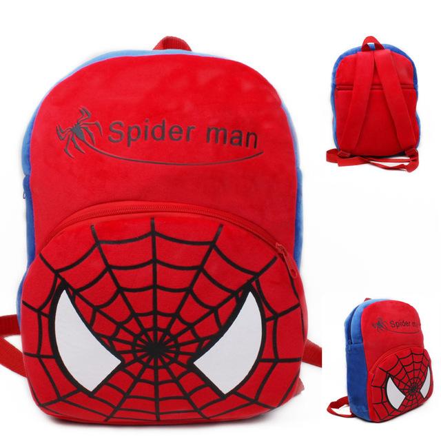 Высокое качество паук плюшевые мультфильм игрушки рюкзак дети характер мешок подарок для детей в возрасте 3 - 5 Mochila Infantil горячая распродажа