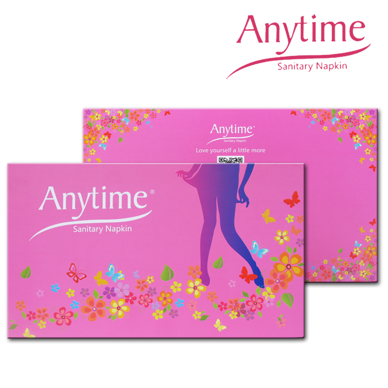 New Arrival 50 Gift Sets Sanitary Napkin Hygiene Women Napkins Anion Cotton Sanitary Napkin Medicated Lady(China (Mainland))