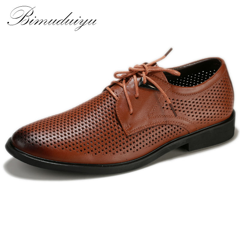 Hollow Out Super Cool Breathable Men's Casual Shoes Spring Summer New Business Style Quality Genuine Leather Pointed Hole Shoes(China (Mainland))