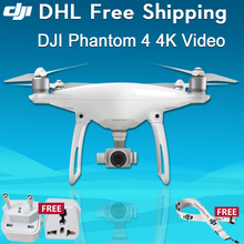 UAV DJI Phantom 4 rc quadrocopter drone Multicopter with Camera 4K Professional Aerial Photography Drone with remote control