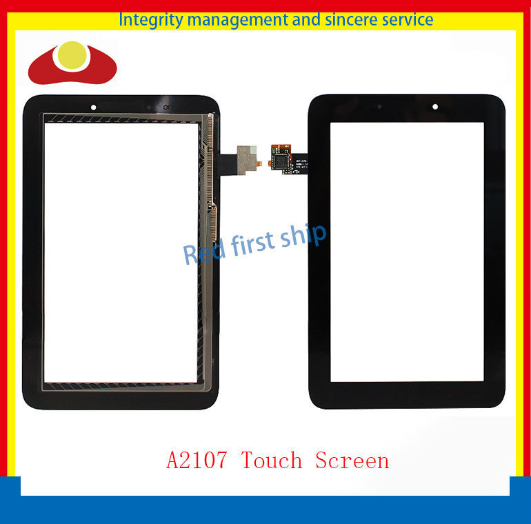 Original For Lenovo Tablet PC A2107 Touch Screen With Digitizer Panel Front Glass Lens