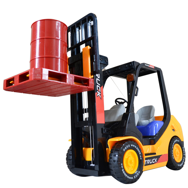 Remote control forklift remote control toy construction car charge birthday gift