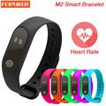 2016 New M2 Smart Bracelet Heart Rate Monitor bluetooth Smartband Health Fitness Tracker Smart Band Wristband