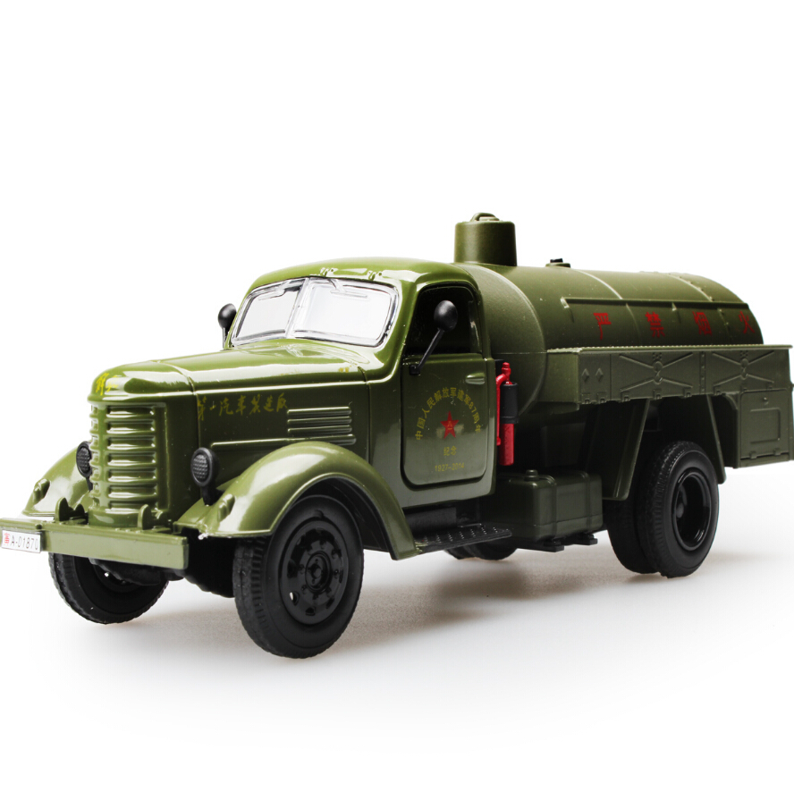 High Simulation Collection Model Toys Car Styling Oil Miliary Tanker Model 1:32 Alloy Truck Model Excellent Gifts(China (Mainland))