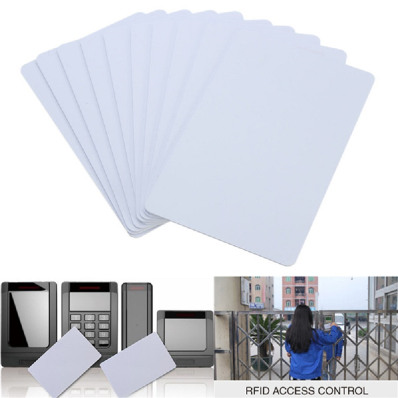 PVC White NFC Smart Card Tag S50 For IC 13.56MHz RFID Readable Writable New 8.5 x 5.4 x 0.1cm Smart RFID Card 13.56MHz NFC Card(China (Mainland))