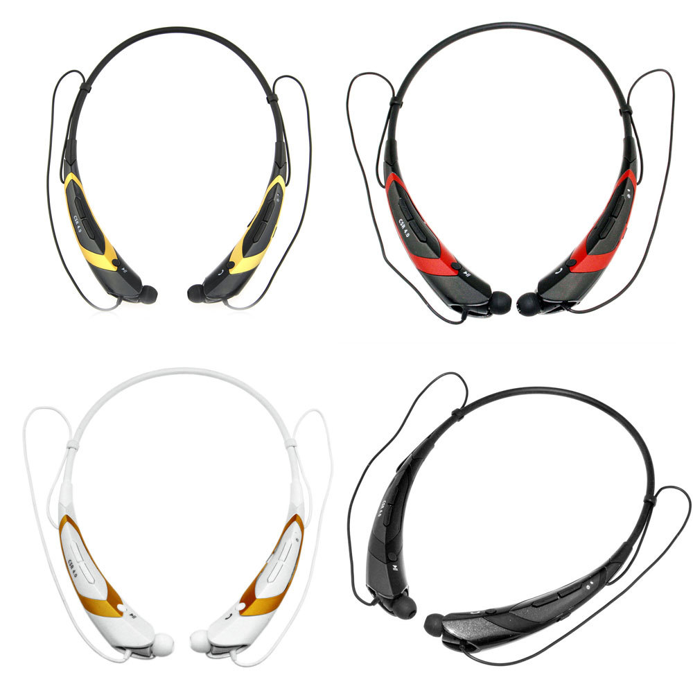 """*Clearance"""" Universal Wireless Bluetooth 4.0 Stereo Headphones Headset HBS-760 neckband Style Headphone For iPhone Samsung HTC(China (Mainland))"""