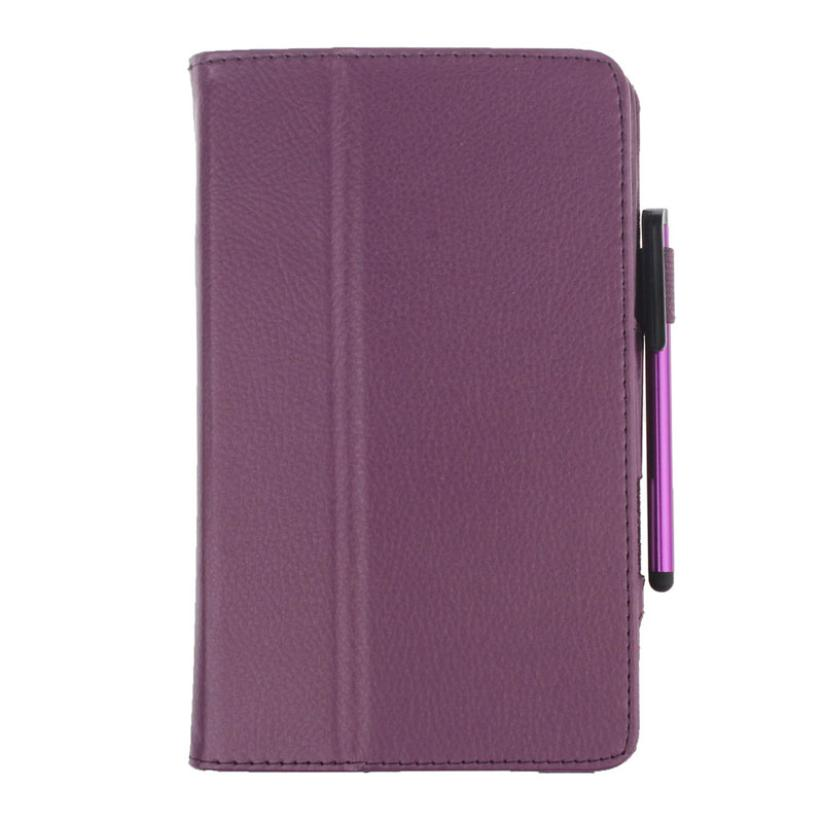 Del  Leather Case Stand Cover For Samsung Galaxy Tab 4 10.1Inch SM-T530 Tablet+Film Pen Reel Feb29<br><br>Aliexpress