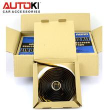 Free Shipping ABRO Kit Winscreen Tape Glue Butyl Snake Sealant Adhesive for Retrofitting Headlight Sealing Auto Glass(China (Mainland))