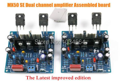 Аудио усилитель Assembled board MX50 SE 2.0 100 + 100 HIFI assembled upgraded n5 preamplifier board hifi amp board with 2134 opa