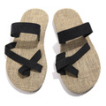 2017 New PU Leather Flip Flops For Men Summer Beach Flat Shoes Out Sandals Slippers Black White Dark Blue Color Sandalias Mujer