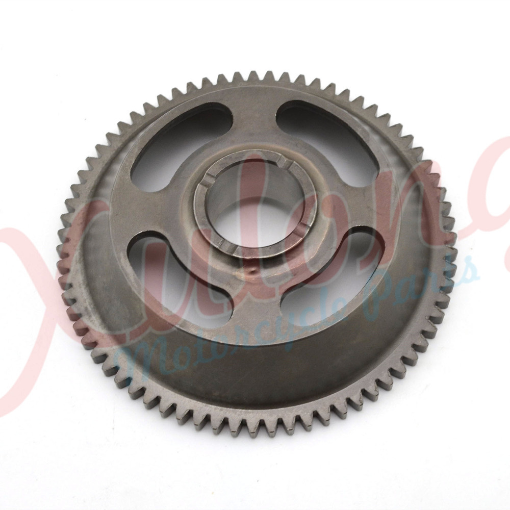 Free Shipping Motorcycle Engine parts one way Starter Clutch Gear Assy For Yamaha TTR250 TTR 250