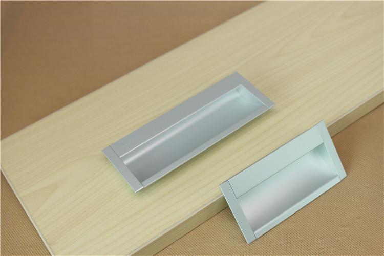Modern Minimalist Aluminum Alloy Cabinet Drawer Pull Handle Shoe Matt Door Handles Knob
