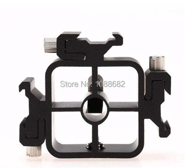 Triple Hot Shoe Heads 3 Hot Shoe Mounts Flash Stand Adapter, Bracket, Umbrella Holder for all Camera Flashes<br><br>Aliexpress