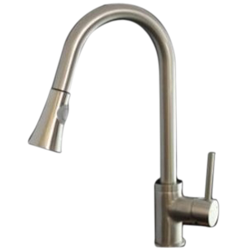 Boutique Faucetland 003002333 Kitchen Sink Faucet Pull Out Down Spray Single Handle Brushed Nickel(China (Mainland))
