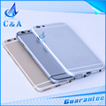 New replacement parts 4.7 inch for iphone 6 back housing 6g metal alloy cover with buttons battery door 1 piece free shipping