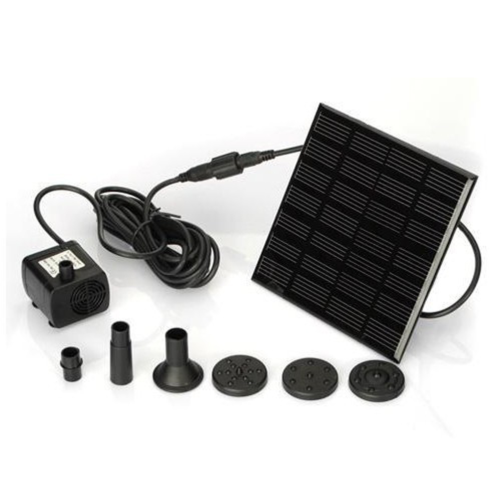 Compra mini kit solar online al por mayor de china for Kit estanque jardin