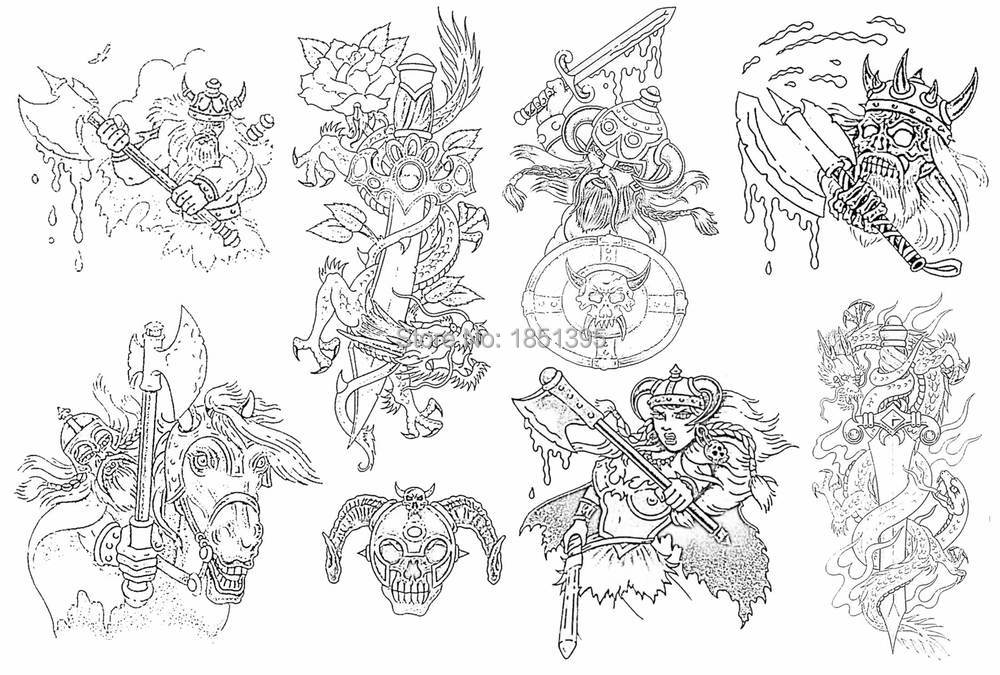 Wholesale Pdf Format Tattoo Book Traditional Tattoo 140