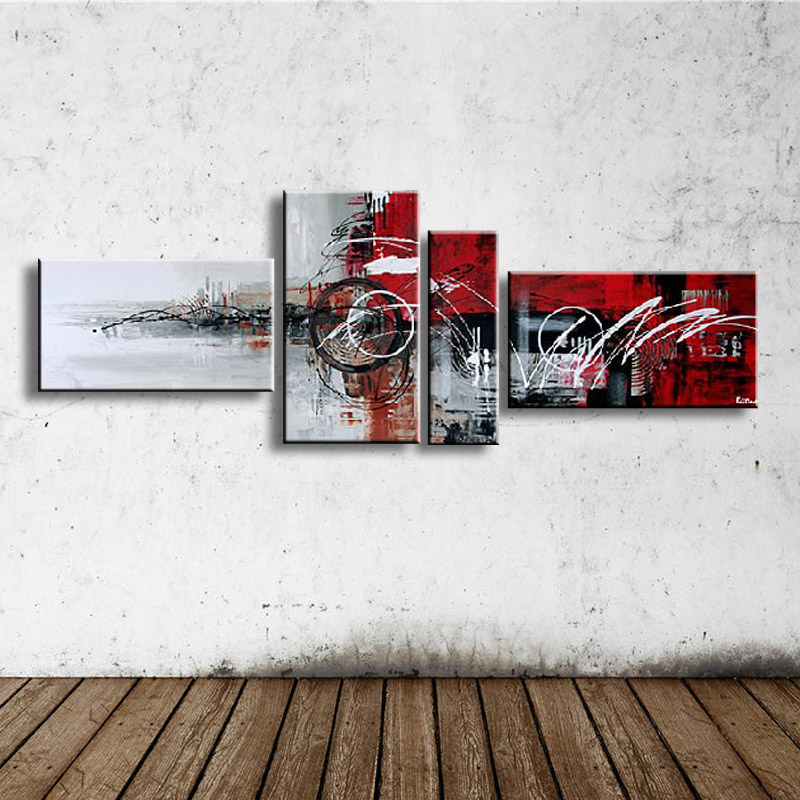 handmade oil painting on canvas modern Best Art Abstract oil painting original directly from artist XD4-103(China (Mainland))