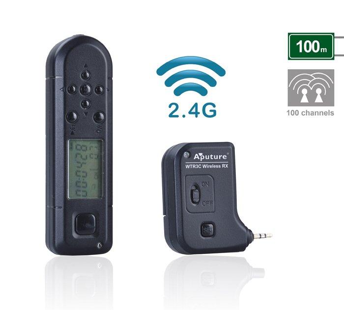 Aputure Pro Coworker II Wireless Timer remote control WTR1C for Canon EOS 70D 700D 650D 550D 450D 60D 100D 500D(China (Mainland))