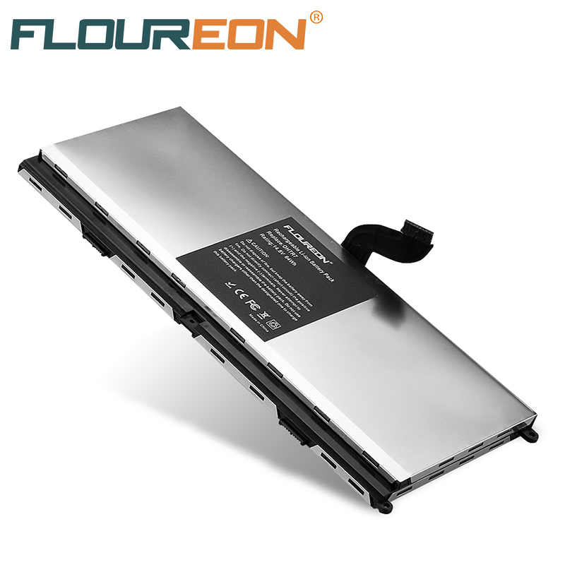 8 Cells 4400mAh Laptop Battery for Dell 14.8V 64Wh FLOUREON Notebook Li-Ion Rechargeable Battery Pack XPS 15z L511Z NMV5C 075WY2(China (Mainland))