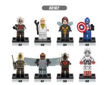 Star Wars Minifigures Single Sale R2D2 Leia Boba Fett Clone Trooper darth Vader Kylo Ren Figures Blocks Building Toys