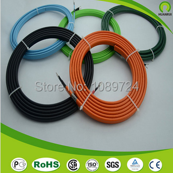 Gutter deicing cable