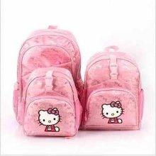 2016 new arrival  three layers hello kitty girls jacquard schoolbag/student bag/shoulder bag WLHB210(China (Mainland))