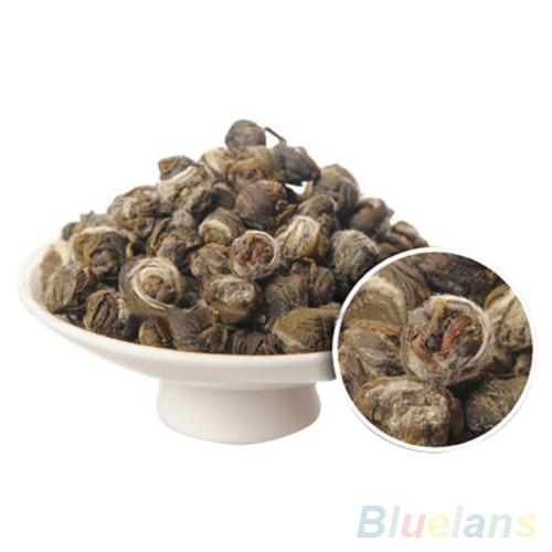 Гаджет  100g Chinese Organic Premium Jasmine Dragon Pearl Ball Natural Green Tea  2MPF None Еда