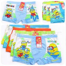 Buy free shipping, Boys Underwear Despicable Children Cartoon Boxer Briefs boys Boxers Minions Panties size:4-14year 95% Modal for $16.15 in AliExpress store