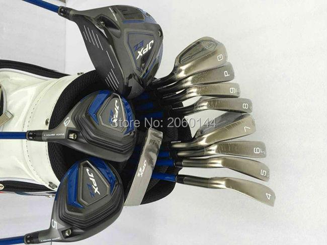 12PCS JPX EZ Golf Set JPX EZGolf Clubs Driver + Fairway Woods + Irons + Putter Regular/Stiff Flex Shafts With Head Cover(China (Mainland))