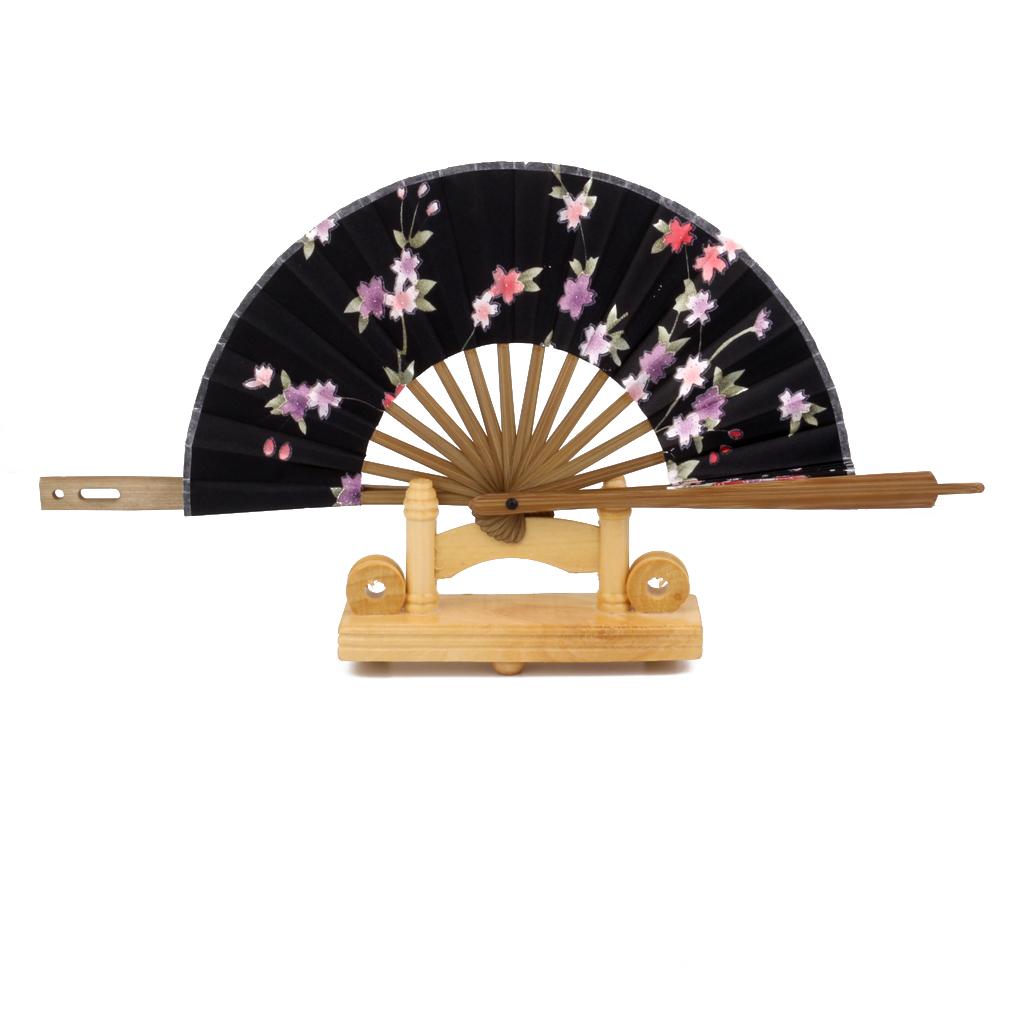 Wholesale New Hot Sale Japanese Sakura Flower Windmill Silk Bamboo ...