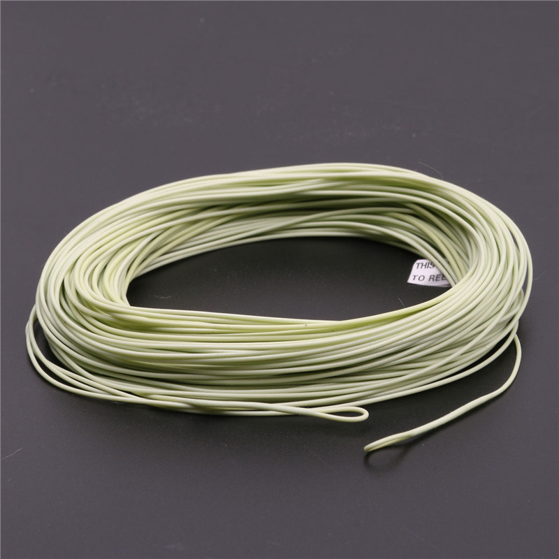 High quality 100ft 5wt weight forward floating fly fishing for Floating fishing line