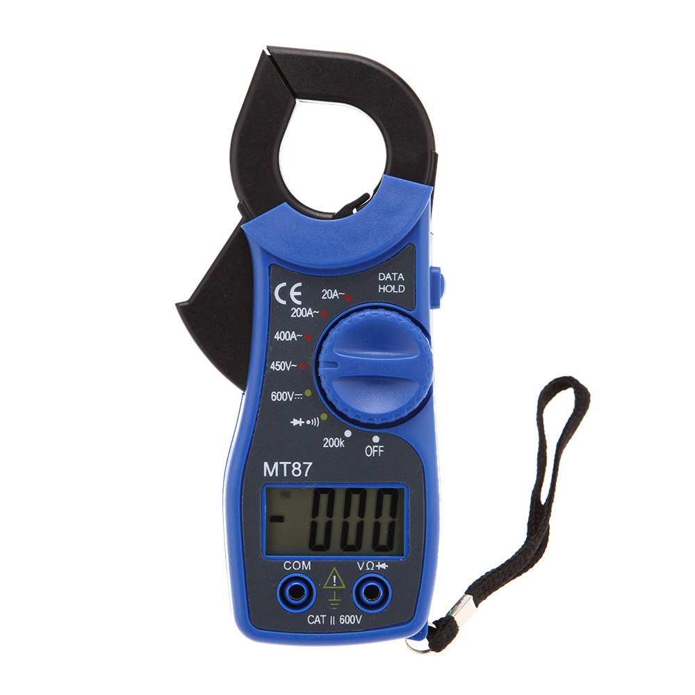MT87 31/2 Digital Clamp Meter multimeter Voltmeter AC Ammeter Ohmmeter Diode Continuity Tester Data Hold multimetros multimetr(China (Mainland))