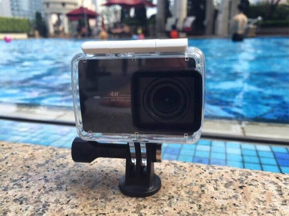 100% Original Xiaomi YI Waterproof Case Diving 40m Waterproof for Xiaomi YI 4K Action Camera 2, Yi Camera Accessories and Parts