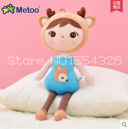 50cm New Metoo Cartoon Stuffed Animals Angela Plush Toys Sleeping Dolls for Children Toy Birthday Gifts Kids