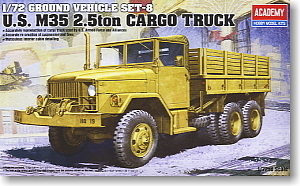 ACADEMY 13410 US M35 2.5-ton transport truck(China (Mainland))