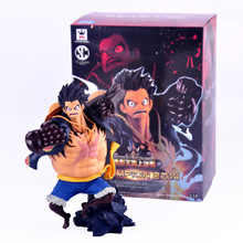 New 16cm One piece Gear fourth Monkey D Luffy action figure toys Christmas Gift toy with box