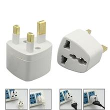 2015 neue US/EU UK AC Power Stecker Converter Adapte Weiß 1N25 5FSN(China (Mainland))