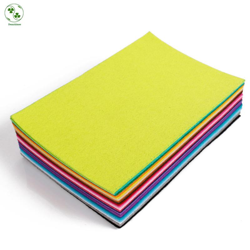 2MM 28pcs Colorful 30 x 20CM Non-woven Russia DIY Felt Fabric,Non-woven Felt, Craft Felt