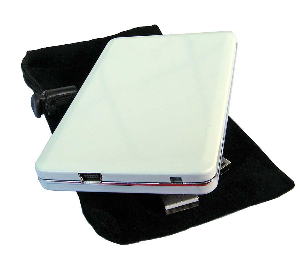 """USB 2.0 to 1.8"""" MICRO SATA Hard Drive Disk HDD aluminum Enclosure External Case mobile hard disk box(China (Mainland))"""
