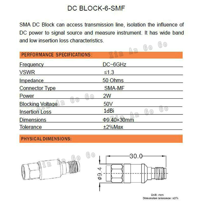 Factory sales SMA attenuator SMA male to SMA female Coaxial Attenuator 2W DC 6.0GHz 30dBi free shipping<br><br>Aliexpress