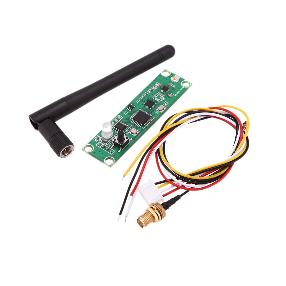 Durable Wireless DMX512 2.4G Led Stage Light PCB Modules Board LED Controller Transmitter Receiver with Antenna(China (Mainland))