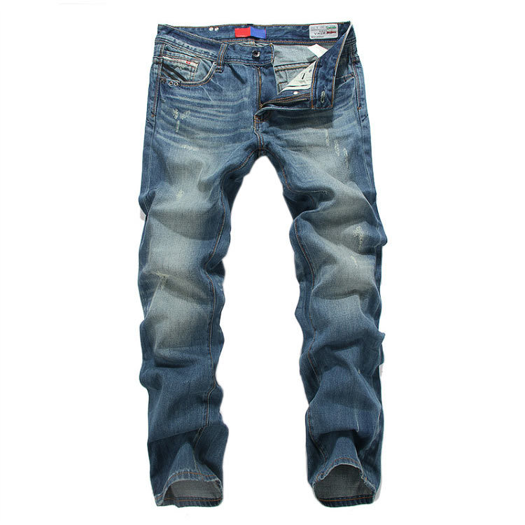 New 2015 high quality denim jeans men famous brand perfume men trousers fashion disel jeans for men cotton cal jeans pants(China (Mainland))
