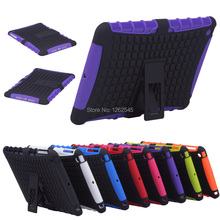 Shockproof Antiskid Kick-Stand Heavy Case for IPad Mini 2 Cover Case + Free Screen Protector + Cloth + Stylus(China (Mainland))