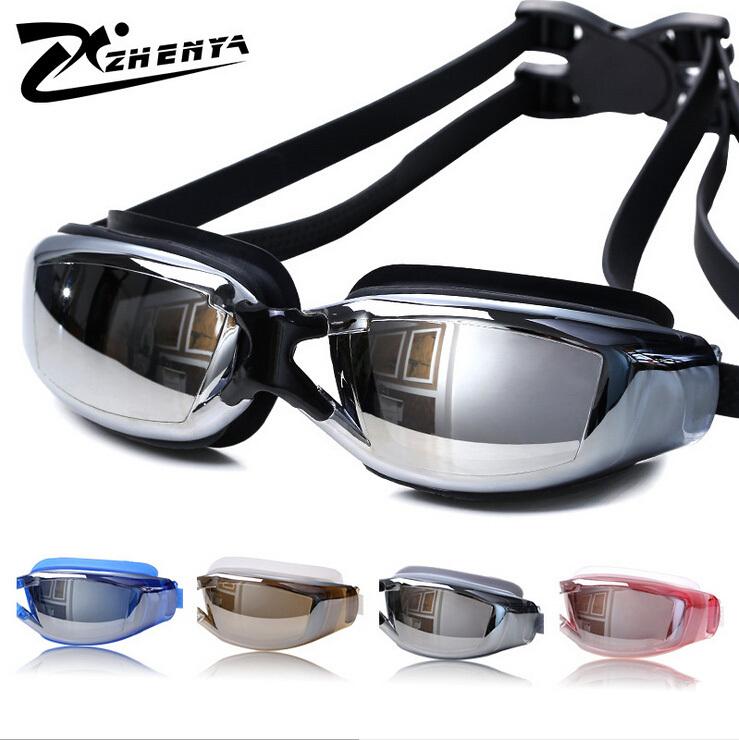 Myopia Swimming Goggles Men/Women Swimming Eyewear Prescription Swimming Goggles Swimming Glasses 200-800 Degrees()