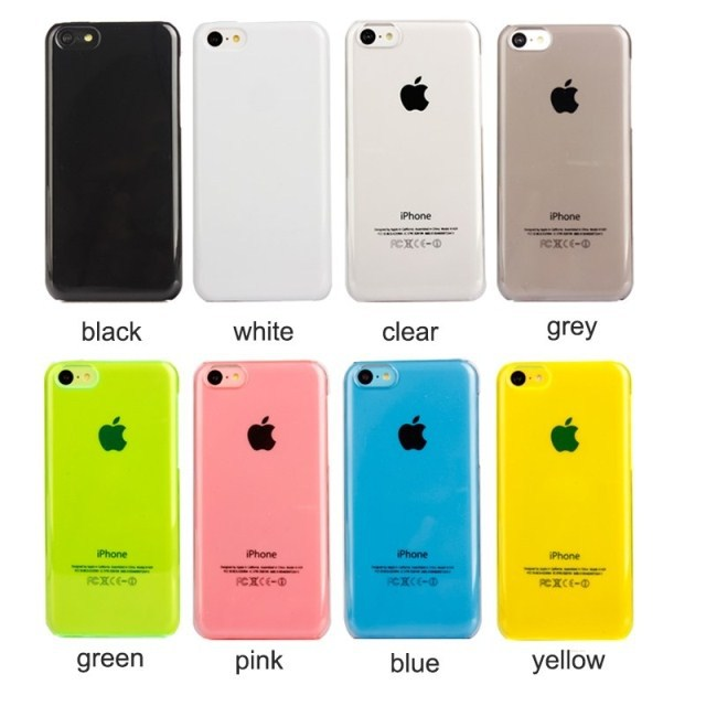 Wholesale Free Shipping cute candy color plain blank white Case For Iphone 5c/kpop DIY rhinestone bling Cell Phone material Case(China (Mainland))
