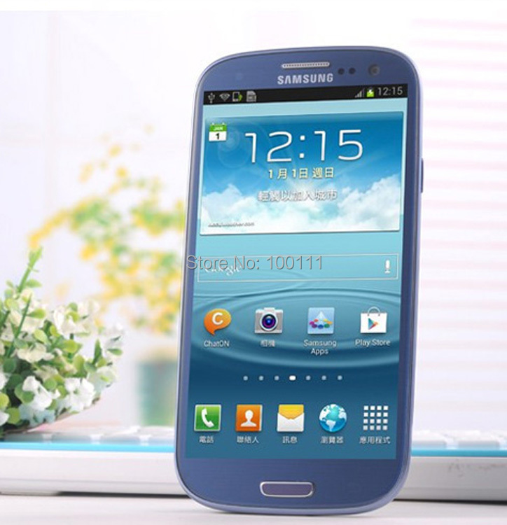 "Original Samsung Galaxy S III S3 i9300 Cell Phone unlocked Refurbished Quad Core 4.8"" 8MP 16G ROM / Free"