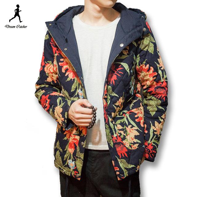 2016 мужчин китайском стиле куртки как со стороны носить мужские свободного покроя ...