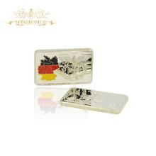 Рождественский подарок для 1 унц. золотые слитки Deutsche Рейхсбанка бар крест коллекция Золотая монета(China)